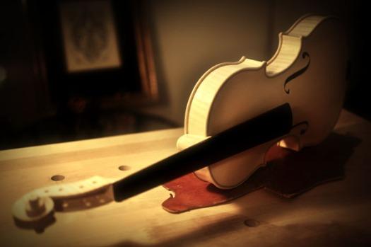 ヴァイオリンの好きなアングルから