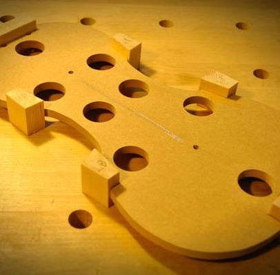 接着されたブロック材