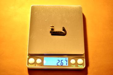 Mberg: 2.67g