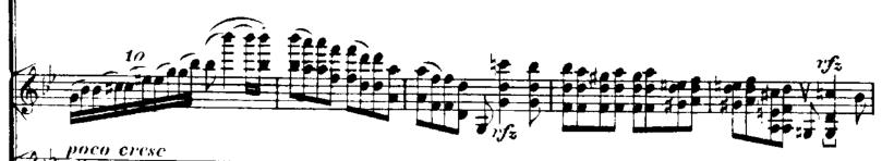 ブルッフ: ヴァイオリン協奏曲第1楽章から